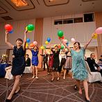 ホテルグランヴィア広島:限られた予算で、自分たちらしさを演出できる手作りアイテム。みんなの笑顔をイメージしながら取り組んで