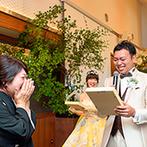 THE VILLAS 長崎(ザ ヴィラズ):ゲストからのサプライズやふたりから家族への感謝の演出など、一体感を感じるアットホームなひと時