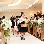 ホテルクラウンパレス浜松:淹れたてのおいしいコーヒーでおもてなし。大切な人たちの力を借りて愛を誓ったオリジナルのセレモニー
