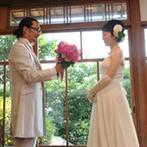 神戸北野 ハンター迎賓館:みんなで楽しめる参加型の演出で盛り上がったパーティ。ゲストもふたりも笑顔でいっぱいの楽しい思い出に