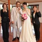 神戸北野 ハンター迎賓館:アイデア豊富なプランナーのおかげで最高の結婚式が叶った。支えてくれたスタッフ全員からの祝福に感動!