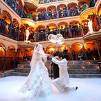 マナーハウス エリザベート:お姫様になれる特別な場所で一生に一度の結婚式を叶えたい!大勢のゲストが見守るセレモニースペースに魅了