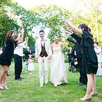 THE NIDOM RESORT WEDDING:アットホームな時間を演出する、美しいガーデンに一目惚れ。北海道らしさを感じるロケーションや料理も魅力