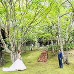 ニドムリゾートウエディング:北海道の大自然に包まれたウエディングにときめいた。感動の挙式シーンや料理、スタッフの対応が魅力