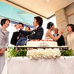TERAKOYA:親から子へ、子から親へ、連綿と紡がれる想い。パティシエ考案のオリジナルケーキで、ふたりらしく演出