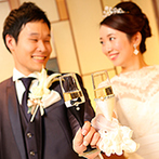 センチュリーコート丸の内:クラシカルを極めた空間で上質なパーティ。フレンチ×日本料理の洗練された美食でゲストをもてなした