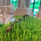 ヴィラ・グランディス ウエディングリゾート TOYAMA:何軒もの乗馬クラブに掛け合ってくれたことに感謝。装花にこっそり馬の人形を飾ってくれる粋なはからいも
