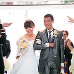 浅草ビューホテル:目の前に広がる絶景のサプライズに、会場が感動!ゲストを近くに感じながら心温まるセレモニーが叶った