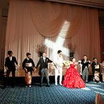 浅草ビューホテル:人力車やハットを使った入場演出で会場を沸かせた。大ヒット曲に合わせて家族と一緒にダンスを披露!