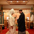 ヒルトン東京ベイ:雅楽の音色に聴き惚れる厳かな神前式。日本の伝統あふれるセレモニーが、海外ゲストの目に新鮮に映った