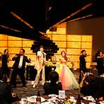 ベルヴィ武蔵野:幸せを振りまくレインボーカラーのドレスで再入場!フォトラウンドや、フラッシュモブのサプライズも大成功