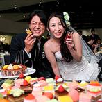ベルヴィ武蔵野:料理、デザートビュッフェ、バーテンダーがつくるドリンクも全て大好評!こだわりの美食でおもてなし