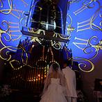 ホテル東日本宇都宮:異国の大聖堂を思わせる神聖なチャペル。大迫力の映像演出に、「こんなの初めて!」という感動の声が多数!