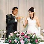 ホテルニューオータニ大阪:大勢のゲストを招待してパーティできるのが嬉しい。遠方ゲストも招くから、宿泊施設が充実したホテルは最適