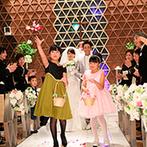 リーガロイヤルホテル京都:大切な人達に報告し、祝福してもらう結婚式はかけがえのない思い出。撮影のタイミングもスタッフに相談を