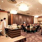 リーガロイヤルホテル京都:大切なゲストを美食でもてなし感謝を伝えるウエディング。スタッフの親身な対応にも惹かれてこの会場に決定