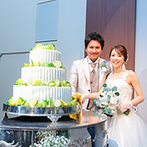 ANAクラウンプラザホテル成田:ウエディングケーキでゲストにおいしい幸せのおすそわけ。みんなで楽しめるイベント満載のおもてなし