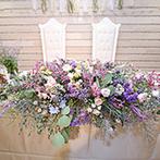 マリエール高崎:豊かな緑や花々に囲まれたナチュラルな空間。料理にもこだわりを詰め込んで、和やかな祝福のひと時を
