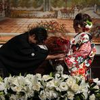 OSAKA St.BATH CHURCH(大阪セントバース教会):ゲストを巻き込んだ演出の数々で大盛り上がり!新郎新婦のお互いを思いやるサプライズで、温かな雰囲気に