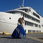 CONCERTO(コンチェルト):海が大好きなふたりらしい、オリジナルの結婚式を叶える船上のステージ。式後に楽しめるクルージングも魅力