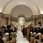 ウェスティンホテル東京:神秘的なチャペルに響き渡る生演奏が素敵。ホースパレードは愛を誓ったばかりの夫婦の特別な時間となった