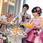 グランドニッコー東京 台場(旧ホテル グランパシフィック LE DAIBA):果実と白ワイン、ジュースが豊潤な味わいを生む「サングリアブランカ」を始めとした、美味しい演出の数々も