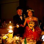 アイランドヒルズ迎賓館:花嫁が美しく歩くコツは、小股で歩くこと。パーティの時間帯にもこだわって、もっとゲストを喜ばせよう