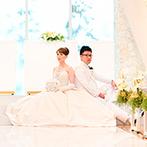 ディアステージつくばフォレストテラス:洗練されたウエディング空間で叶える、一生に一度の結婚式。料理やスタッフの対応などおもてなしも重視した