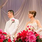 ウエディングヒル 東京ベイ幕張:「式後もお付き合いしたい」と思えるほど、強い絆で結ばれたふたりとプランナー。真摯な対応が嬉しかった