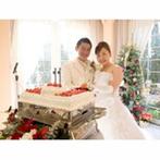 フラールガーデン春日部:ふたりだけの空間『ゲストハウス』はクリスマスのイメージで飾りつけ。イチゴたっぷりのケーキも好評