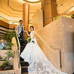 京王プラザホテル:ホテルのラウンジでの出会いから始まったふたりの縁。思い出の場所は、立地も料理もスタッフも魅力だった