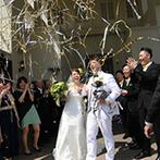 マリエール ガーデン バーベナ (Marriyell Garden Verbena):広大な緑の丘に佇むシャトー&邸宅は、誰もが快適に過ごせる造り。頼もしいスタッフと一緒に心躍る結婚式