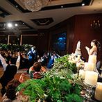 グランド ハイアット 福岡:プロによるフラッシュモブの演出で大盛り上がり!優雅な非日常空間で、美食と美酒を大いに堪能してもらえた
