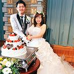 ホテルグランド東雲:2月の結婚式でも大好きなひまわりの花をアレンジ可能!父との腕相撲やケーキ演出でアットホームな雰囲気に