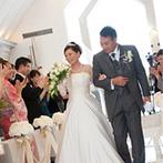 HANA CLUB 華王殿:たくさんの花嫁を魅了し、長年愛され続けてきた会場。スタッフの対応やキャパシティが魅力的だった