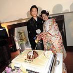 美翔苑 -Bisyoen-:菓子まきや料理、個性的なケーキなど美味しさにふたりらしさをプラスして、ゲストに大いに喜んでもらった