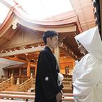 ホテルモントレ仙台:古都『プラハ』をモチーフにしたホテルのなかに、和婚が叶う本格神殿。おいしい料理にも期待が高まった