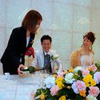 izumoden 掛川:プロポーズから本番まで、結婚式のすべてをトータルでサポートしてくれたスタッフに感謝の気持ちでいっぱい
