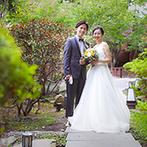 エルム ガーデン:緑豊かな日本庭園に抱かれた非日常空間。ゲストと近い距離で美食を囲める、アットホームな貸切邸宅が決め手