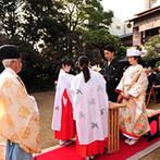 浮月楼:祖父母や年配ゲストにも喜んでもらえそうな歴史を感じる会場。静岡駅から歩いて行ける便利さも決め手に
