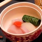 浮月楼:新郎が作った野菜を使ったオリジナル料理で感謝を伝えた祝宴。料亭の技が光る逸品の数々にゲストも満足