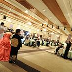 杉乃井ホテル&リゾート(SUGINOI Hotel&Resort):母と娘の絆を深めた手紙などサプライズがいっぱい。ラストはゲストを巻き込んだ新郎から新婦へのメッセージ