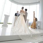 スギノイ ホテル&リゾート(SUGINOI Hotel&Resort):天気にも祝福され、ふたりの心を掴んだ絶景の中で永遠の約束。ゲストの心に刻まれる感動のシーンに