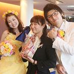 スギノイ ホテル&リゾート(SUGINOI Hotel&Resort):サプライズや演出など様々なアドバイスをしてくれたプランナー。司会者とも打ち合わせでき進行もスムーズ