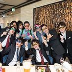 Hotel Kokusai 21 (ホテル国際21):ふたりの思い出もよみがえる、ハワイ一色のパーティ空間!お揃いのサングラスでまるでリゾート地のよう