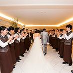 Recent Culture Hotel(リーセントカルチャーホテル):遠方ゲストも嬉しい、アクセスしやすいホテルで結婚式を。接客レベルの高いスタッフ、おいしい料理も魅力