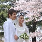 ル・ジャルダン:ここなら桜の花に囲まれて、夢のような結婚式が叶う!一生懸命希望を聞いてくれたスタッフの存在も嬉しい