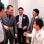 ザ クラブ オブ エクセレント アヴェニュー:ともに結婚式を創り上げたプランナーに感謝の気持ちでいっぱい。サービススタッフの配慮におもてなしも安心