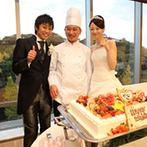 ダイワロイネットホテル和歌山:一面のガラス越しに望む和歌山城。四季を感じるバンケットで極上の料理を楽しむ宴。料理はほとんどお任せに