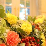 神戸北野 ル・ヴァン ヴェール:プランナーをはじめ、装花や料理、ケーキなどそれぞれのプロが集結。予算内で創り上げてくれる姿勢にも感動